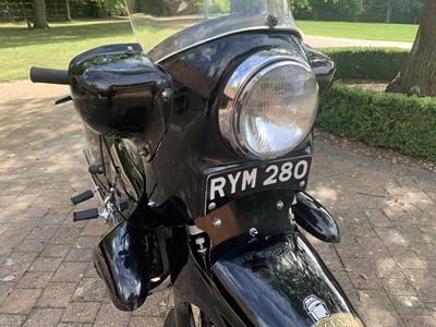 Lot -1955 Vincent Black Prince Series D