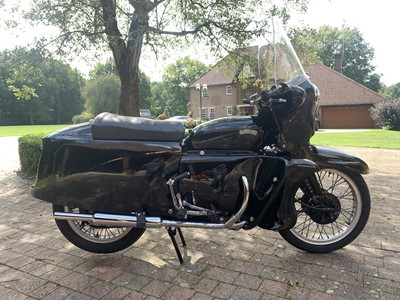 Lot 35 - 1955 Vincent Black Prince Series D