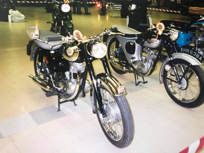 Lot 215-1961 Triumph T20 Tiger Cub