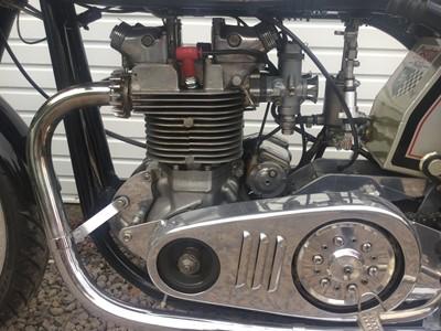 Lot 216-1961 Triton Manx 500 GP