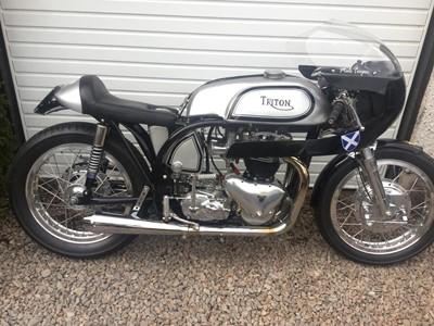 Lot 217-1955 Triton 650