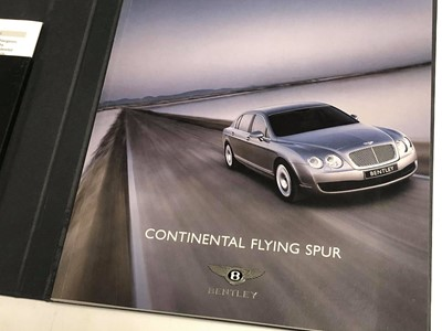 Lot 105-Bentley Literature