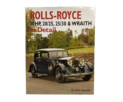 Lot 107-Rolls-Royce: 20HP, 20/25, 25/30 and Wraith in Detail, 1922-1939