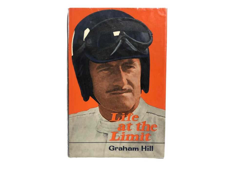 Lot 109-Life at the Limit by Graham Hill (Signed Edition)