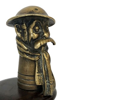 Lot 112-Old Bill Light Car Accessory Mascot