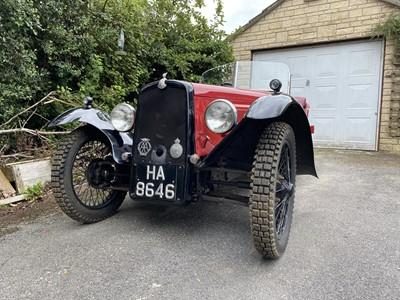 Lot -1933 BSA Three Wheeler