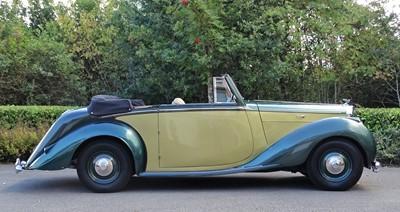 Lot -1950 Bentley MK VI Drophead Coupe