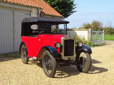 Lot 3-1930 Austin Seven 'Chummy' Tourer