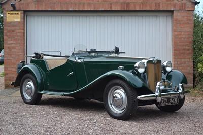Lot 356-1950 MG TD