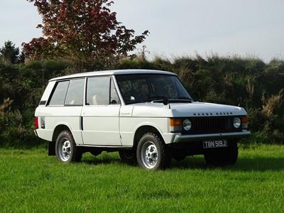 Lot -1971 Range Rover 'Two Door'