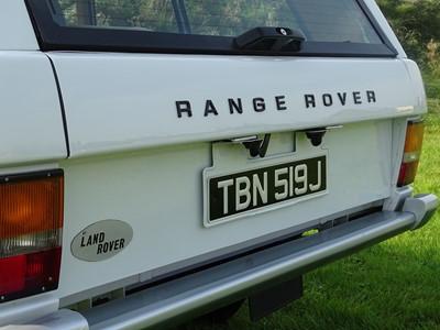 Lot 65 - 1971 Range Rover 'Two Door'
