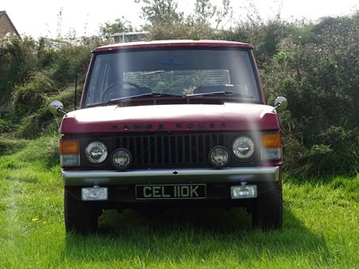 Lot 7-1971 Range Rover 'Two Door'