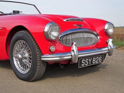 Lot 10-1962 Austin-Healey 3000 MKII