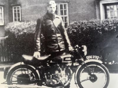 Lot -1939 Vincent-HRD 500cc Series A Comet