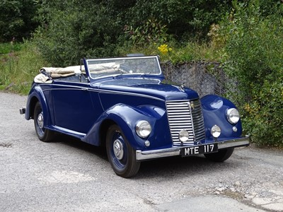 Lot 354-1950 Armstrong Siddeley 18hp Hurricane
