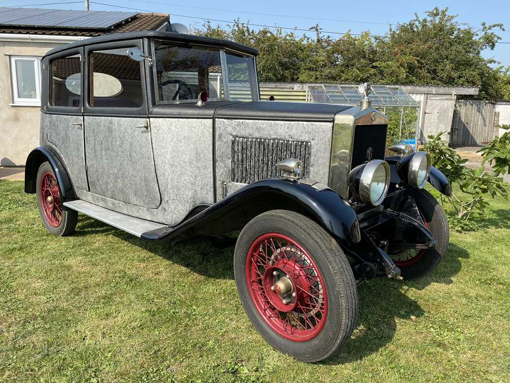 Lot 73 - 1927 MG 14/40 Featherweight Fabric Sporting Saloon