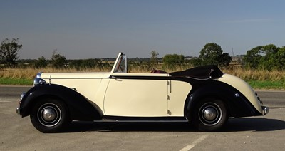 Lot 39 - 1949 Daimler DB18 Foursome Drophead Coupe