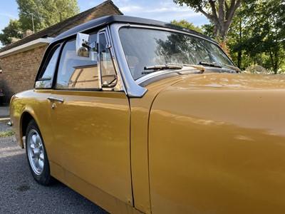Lot 301-1972 MG Midget 1275