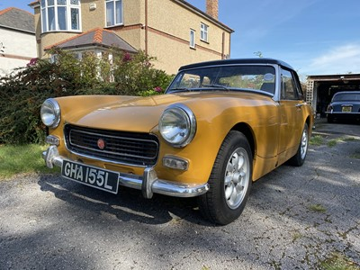 Lot -1972 MG Midget 1275