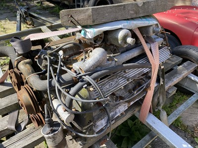 Lot -1966 Jaguar 3.8 Engine and Gearbox