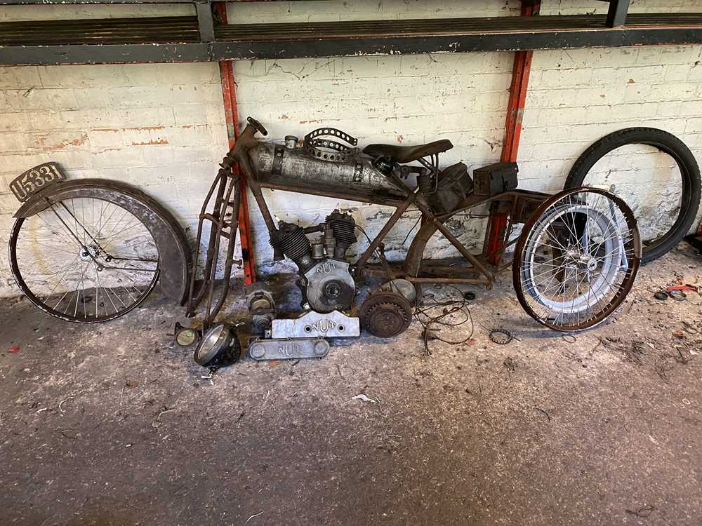 Lot 206-1921 Nut Motorcycle
