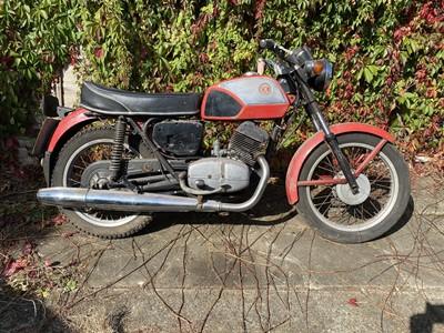 Lot -1984 CZ 250cc Twin