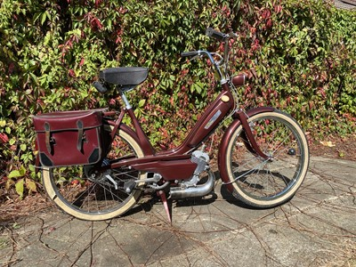 Lot -c.1970s Mobylette Candy Moped