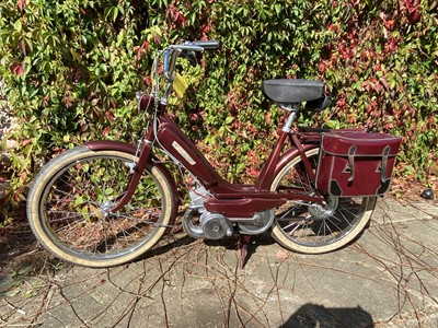 Lot 200-c.1970s Mobylette Candy Moped