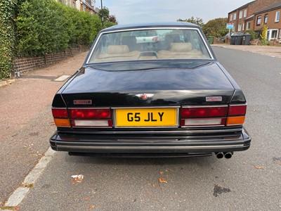 Lot 311-1991 Bentley Turbo LWB