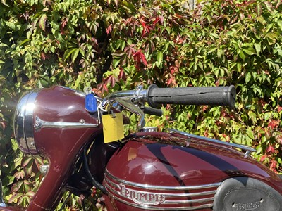 Lot 7 - 1953 Triumph Speed Twin