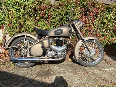Lot 6 - 1953 BSA A10 Gold Flash