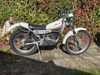 Lot -c1974 Yamaha TY 175