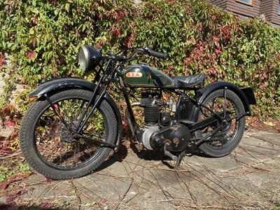 Lot 3 - 1934 BSA B2