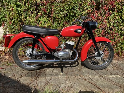 Lot 8 - 1961 BSA Bantam D7