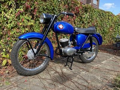 Lot 9-1969 BSA D14/10 Bantam