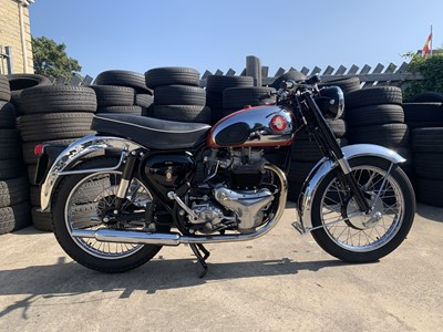 Lot 56 - 1956 BSA A10 Road Rocket