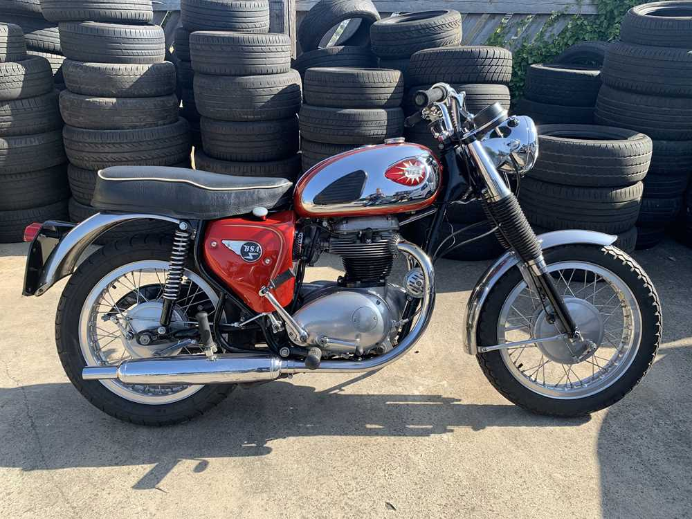 Lot -1965 BSA A65 Rocket