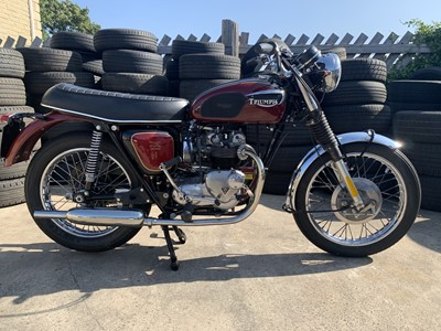 Lot 61 - 1971 Triumph T100R Tiger 500
