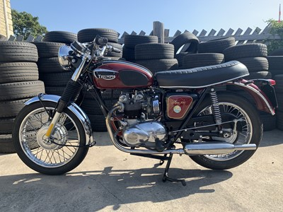Lot 61-1971 Triumph T100R Tiger 500