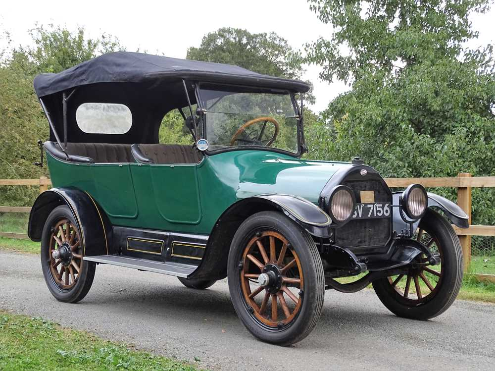 Lot 30-1915 Willys Overland Model 83 Tourer
