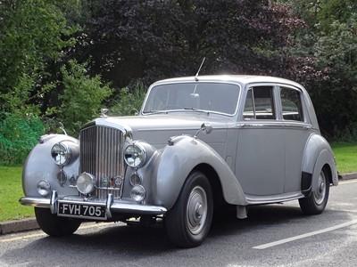 Lot 41-1952 Bentley MKVI Standard Steel Saloon