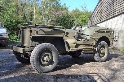 Lot 33-1943 Ford GPW Jeep