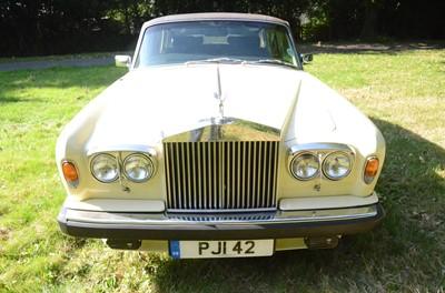 Lot -1979 Rolls Royce Silver Shadow II