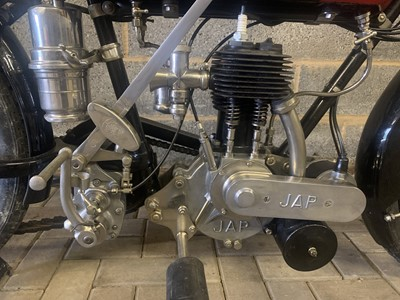 Lot 67 - 1924 Coventry Eagle Model S29 2 3/4 hp JAP