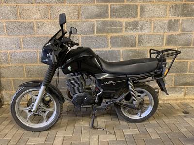 Lot 210-1995 MZ 301 Saxon Tour