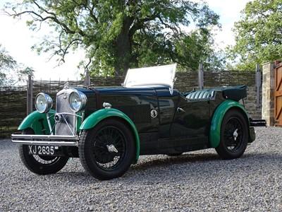Lot 72-1932 Wolseley Hornet Special