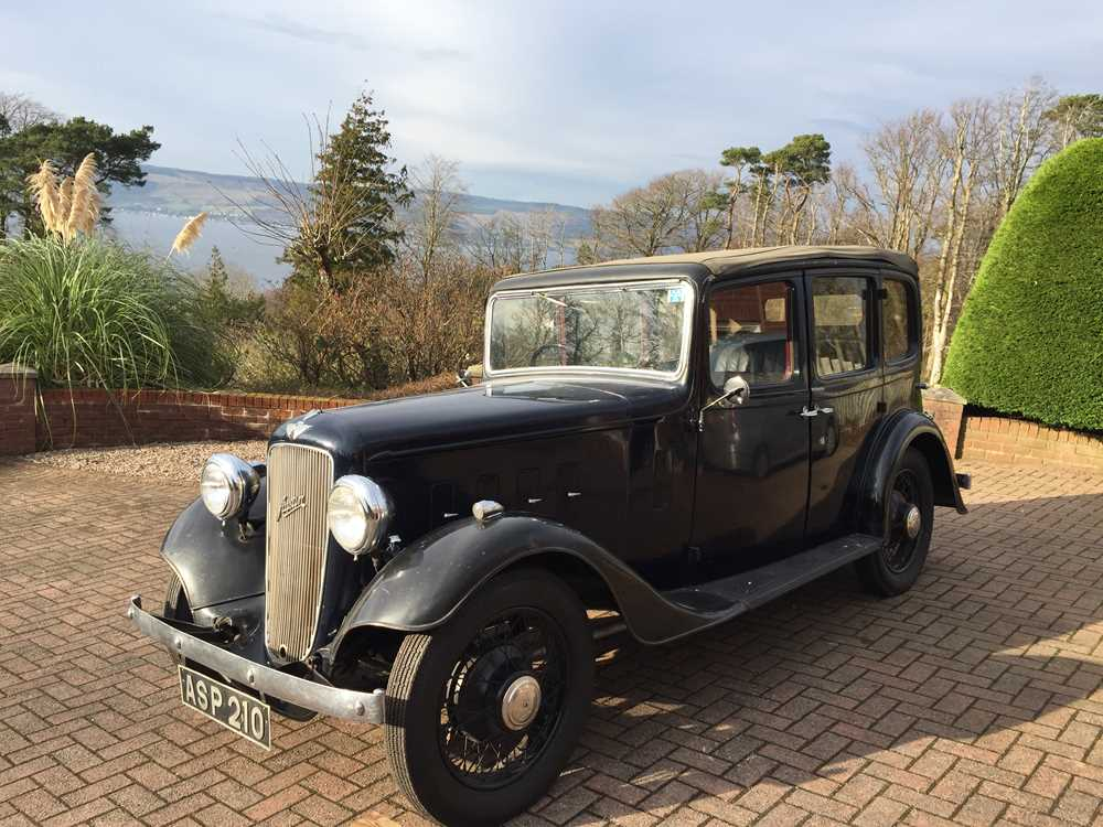 Lot 34 - 1935 Austin Light 12/4 Ascot