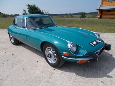 Lot 80-1972 Jaguar E-Type V12 Coupe