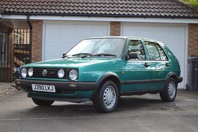 Lot 325-1991 Volkswagen Golf Driver