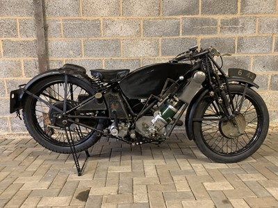 Lot 45 - 1929 Scott 596cc Works Isle of Man Senior TT Race Bike